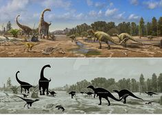 Dinosaurs of Burgos by atrox1 on DeviantArt