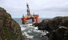 Video: Stranded oil rig Transocean Winner bill 'at least £38 million'