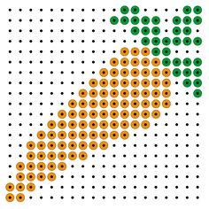 steekparelpatronen Pixel Beads, Saint Nicolas, Easy Paper Crafts, Space Theme, Pearler Beads, Cross Stitch Designs, Beading Patterns, Crafts For Kids, Restaurant
