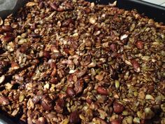 Paleo Granola using the Thermomix Paleo Recipes, Cooking Recipes, Grain Free Granola, Vegetarian Meal, Paleo Treats, Meal Ideas, Clean Eating, Tasty, Meals