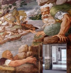 Giulio Romano, sala dei Giganti, Palazzo Te, Mantova Brutta fine. The Bad end Giulio Romano between 1532 and 1535, painted the story of the Fall of the Giants, taken from The Metamorphoses by the Latin poet Ovid. www.claudiaviggiani.it