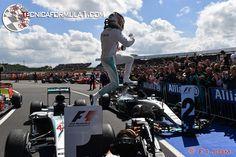 Hamilton gana su cuarto Gran Premio de Gran Bretaña #F1 #BritishGP