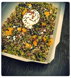 Vegan salade ! #salad #salade #hot #chaud #vegan #vegetarian #veganfoodshare #veganfood #new #foodpic #foodgasm #foodstagram #lunch #lafayette #paris9 #parisfood #lamaisondesproteines #lmp #healthy #eatclean #diet #fitnessfood #regime #protein