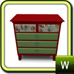 Socky monkey dresser.  A must have for the SM Enthuisiast.