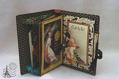Couture mini album-archivador www.tatiscrap.wordpress.com