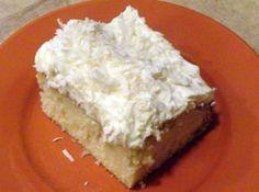 Coconut Cloud Cake : Just a pinch recipe
