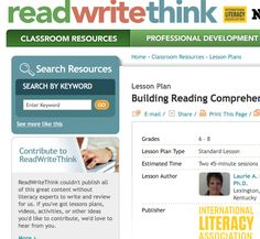"""INSTRUCTION:This site has a lesson that is all about """"think alouds"""". The teacher models the think-aloud strategy.  Students will develop the ability to use think-alouds to aid in reading comprehension activities. With the new technique of thinking aloud, students can develop more skills in regards to comprehending written texts."""
