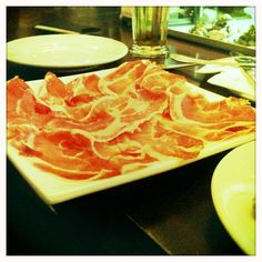 Jamon...French for ham (different to the ham we know)