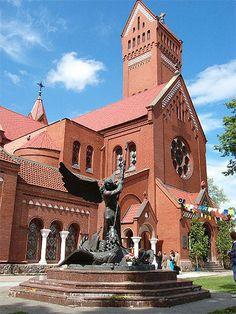 Bielorussie - La cathédrale de Minsk