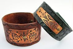 Kate Richbourg-Stamping For Metal And Leather Jewelry-