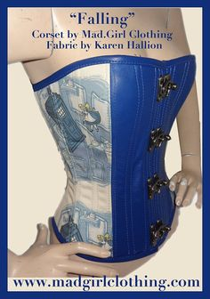 Art Inspired Corsets by MadGirl Clothing by pendragoncostumes, $195.00