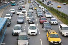 Stock Photo : Busy Road, Heavy Traffic
