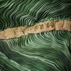Going green ♻️ #Vintage #Dress #Delphos #Silk #History #Art #Fashion #Design #Green #Fortuny