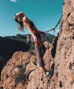 15 Fun Ideas for Hobbies to Try this Summer 15 Fun Ideas for Hobbies to Try this Summer,Rock Jocks! 10 Unique Ways to Celebrate the Dad Who Has Everything – 15 Fun Ideas for Hobbies to Try this Summer – Camille Styles Like: Rock Climbing Workout, Rock Climbing Holds, Rock Climbing Gear, Climbing Girl, Climbing Pants, Ice Climbing, Adventure Awaits, Adventure Travel, Adventure Women