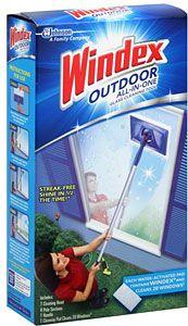 Windex Original Glass Cleaner Kit