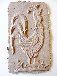 Rooster Handmade Paper Cast. $15.00, via Etsy.
