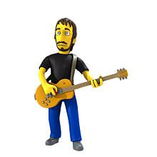 Simpsons 25th Anniversary - 5 inch Figure - Series 2 Pete Townshend #thewho #petetownsend