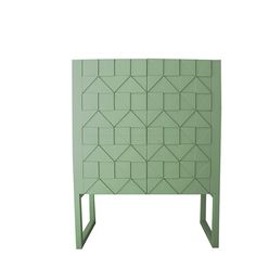 KAST SENNA by June Interiors (vergrijsd groen)