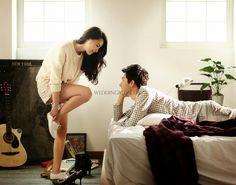 Korea Pre-Wedding Photoshoot - WeddingRitz.com » Wedding NEW Edition of Moonligh Scooter Studio - 'SCRETO'