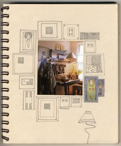 Sketchbook inspiration , How to Create Art Portfolio Ideas #CAPI #sketchbook #DrawingforTextilesandCanvas