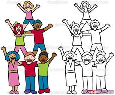 19 Mayıs Gösteri Yapan Gençler Boyama Sayfaları - Önce Okul Öncesi Ekibi Forum Sitesi - Biz Bu İşi Biliyoruz