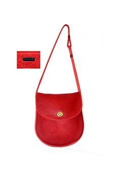 Rare COACH 1960s Precreed Shoulder Bag Medium Size by CashinCarry, $120.00