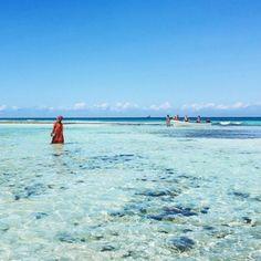 paradise beach of Zanzibar, Tanzania.