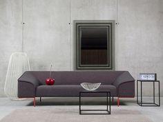 Das Sofa Seam Zeichnet Sich Durch Seine Einzigartige Linie Aus, Die Sich  Entlang Der Gesamten Länge Des Sofas Erstreckt Und Dadurch Seine Form