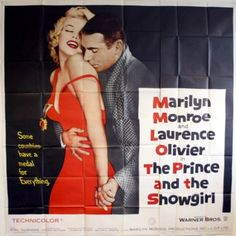 Marilyn: The Prince and the Showgirl Poster