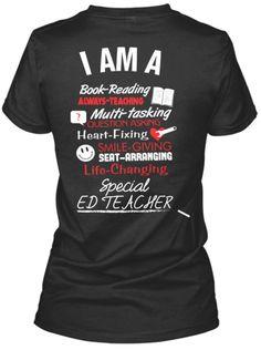 I Am A Special Ed Teacher