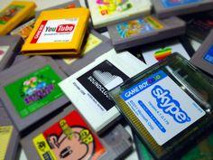 Nintendo Game Boy Cartridges Redesigned As Apple, Skype & More