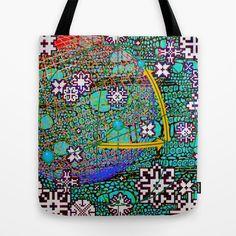 Wintermute Tote Bag by Wayne Edson Bryan - $22.00