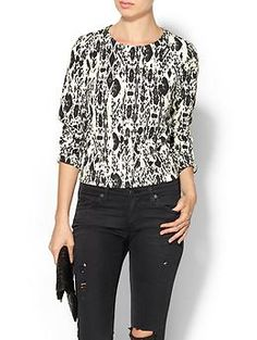 Staff Love That: Piperlime Collection, Printed Structured Top, $89