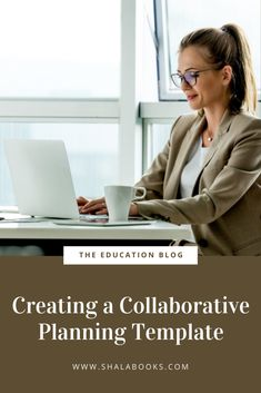Learn tips for creating a collaborative planning template for your staff! - #planning #collaborativeplanning #education Creating A Blog, Templates, Education, Learning, Create, Tips, Role Models, Advice, Template