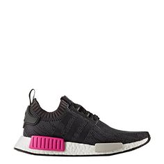 brand new 18342 39878 adidas NMD Primeknit Shock Pink Release Date. The adidas NMD Primeknit  features a Core Black Primeknit upper with Pink on the White Boost for  Spring