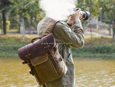 rucksacks Size: 30*18*40 cm Camera Backpack, Canvas Backpack, Leather Backpack, Backpacks, Bags, Handbags, Leather Backpacks, Backpack, Backpacker