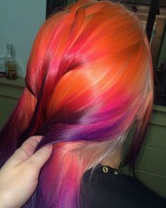 wouldnt wear. looks like a sunset though, cool