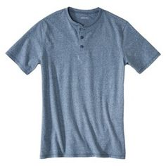 Great for dad in the blue, oatmeal and gray colors! Men's Short Sleeve Henley : Target
