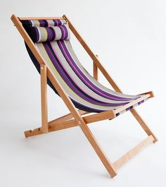 Lanikai Deck Chair outdoor furniture by gallantandjones on Etsy, $309.00