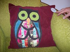 Redeemed Creations. Here is one of her pillows. This one has sold, but she creates new items all the time.