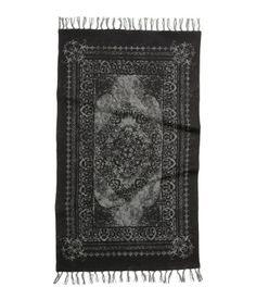 Gypsy Interior Design Dress My Wagon| Serafini Amelia| H&M Cotton Rug $24.95