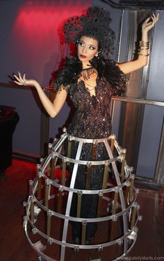Practical Inspiration for Entertainers & Event Planners : dark lace champagne skirt by Catalyst Arts California Corporate Entertainment, Wedding Entertainment, Entertainment Ideas, Drink Display, Event Planning Tips, Character Costumes, Party Guests, Event Design, Special Events