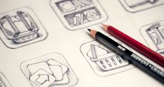 Inspirational icon sketches