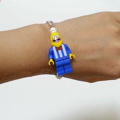 Made in Korea Lego SpongeBob Bracelet/Children's Birthday Gift/Halloween Gift Lego Spongebob, Birthday Gifts For Kids, Halloween Gifts, All About Fashion, Korea, Chain, Best Deals, Bracelets, How To Make