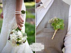 succulent wedding bouquet and boutonniere. flowers