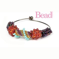 Beaded Beads by Gillian Lamb - tutorial in Issue 48 of Bead magazine.
