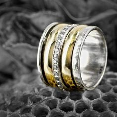 Beautiful ring on wasp nest Photography by Dean Smith Ring Necklace, Earrings, Australian Art, Beautiful Rings, Jewerly, Dean Smith, Wasp Nest, Rings For Men, Fine Jewelry