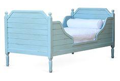 Beach House Bed, Ocean Blue, Twin on OneKingsLane.com