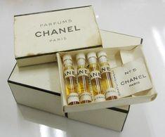 Vintage Chanel Perfume bottles | Vintage Perfume bottles ...