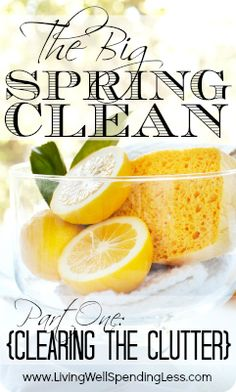 6 Awesome Tips for De-Cluttering Your Home {The Big Spring Clean Series}